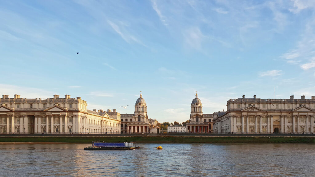 Old Royal Naval College - University of Greenwich - London, UK